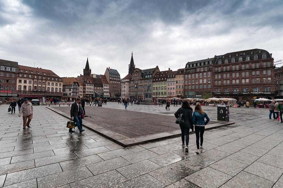 Piata Kleber- obiective turistice Strasbourg