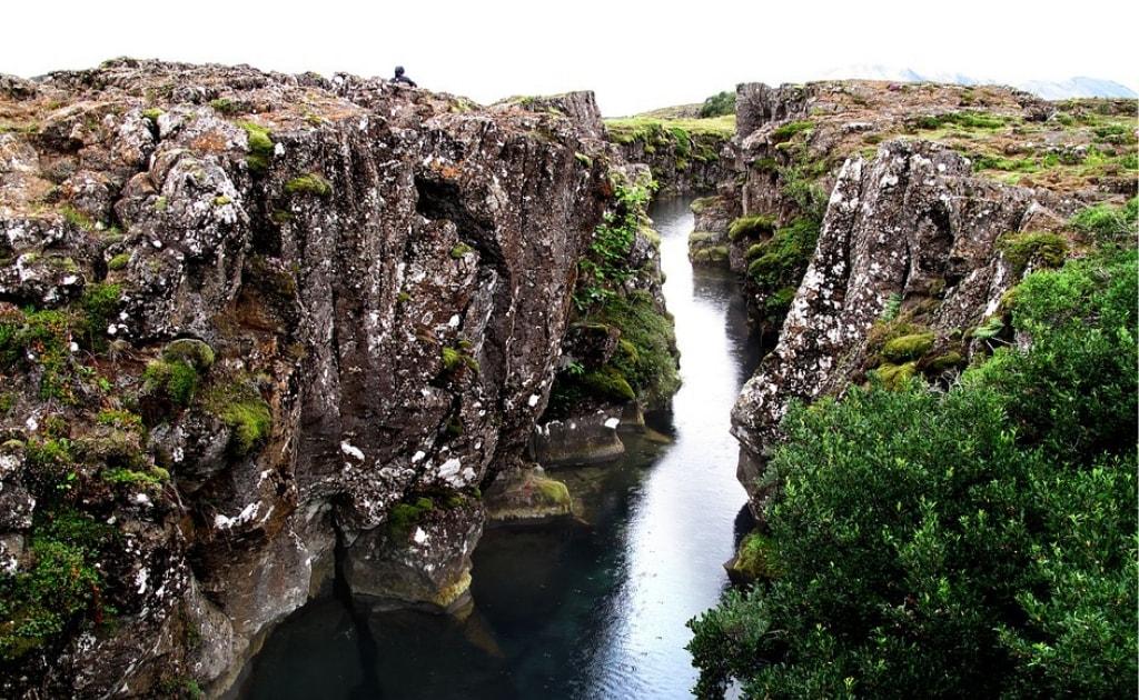 Obiective turistice Islanda - Parcul Naţional Thingvellir