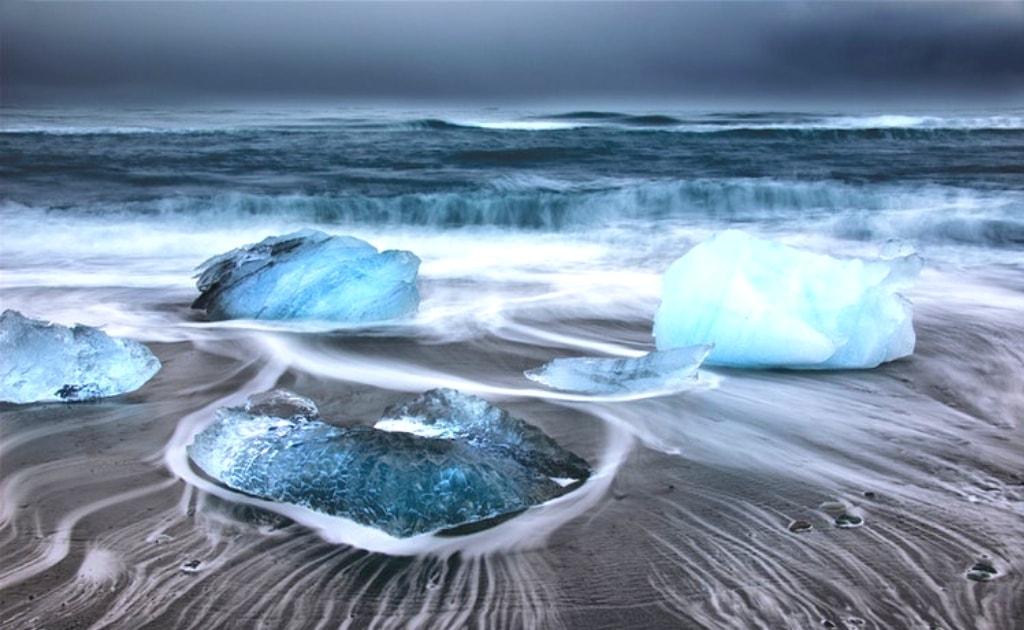 Obiective turistice Islanda - Laguna Glaciara Jokulsarlon