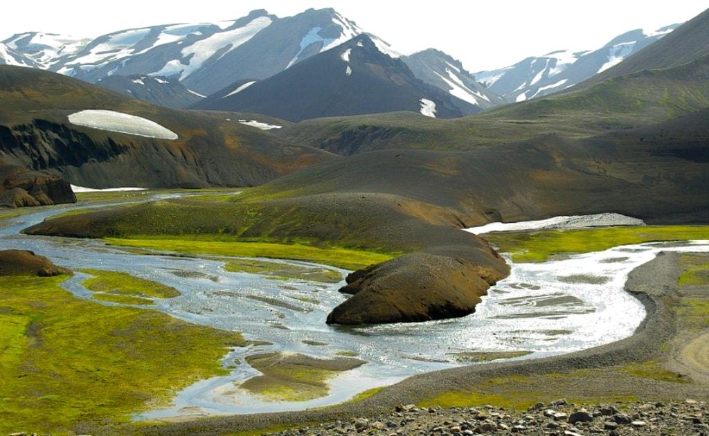 Obiective turistice Islanda - Rezervatia naturala Landmannalaugar